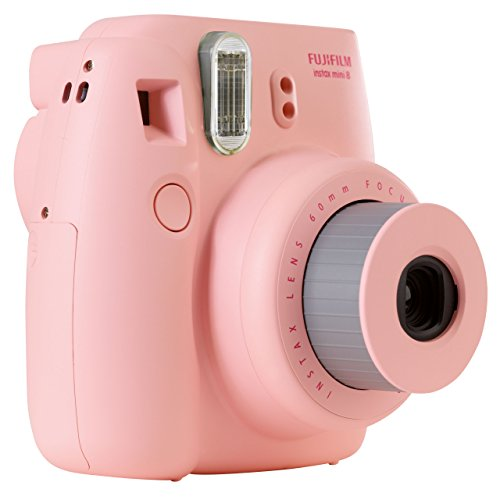 Amazon Com Fujifilm Instax Mini 8 Instant Camera Pink Discontinued By Manufacturer Polaroid Camera Camera P O