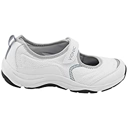 Vionic Women\'s Shoes Action Sunset White Athletic Sneakers Orthaheel Mesh (7.5)