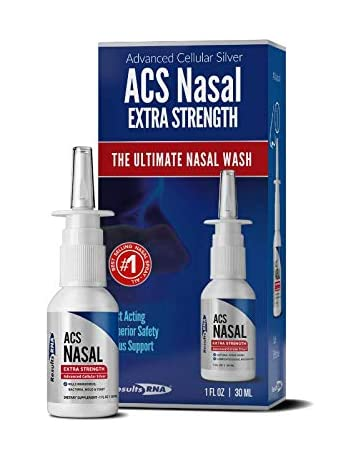 Results RNA ACS 200 Colloidal Silver Extra Strength | Advanced Nasal Spray For Highly Effective Immune