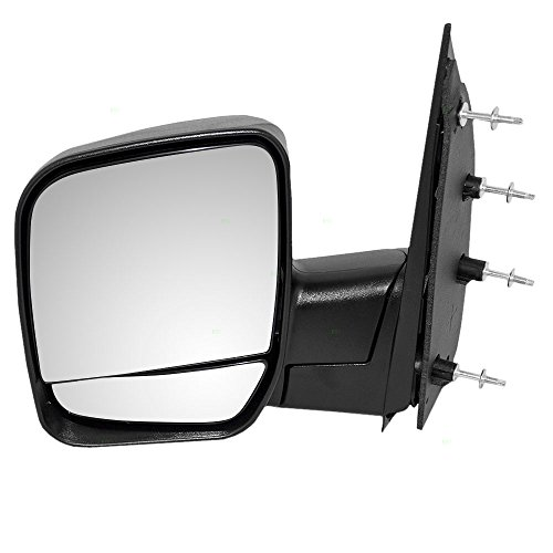 - Drivers Manual Side View Mirror Dual Glass Paddle Type Replacement for Ford Van 3C2Z17683FAA