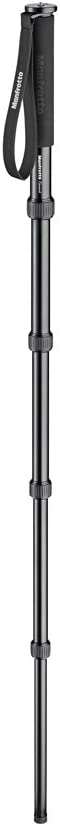 MMELEA5BK Black Manfrotto Element Aluminum 5-Section Monopod