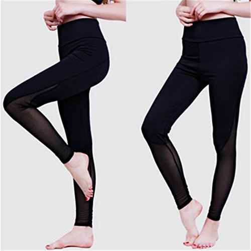 TraveT Womens Stretchy Fitness Tights