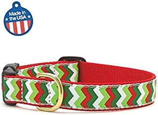 product image for Up Country Christmas Chevron Dog Collar