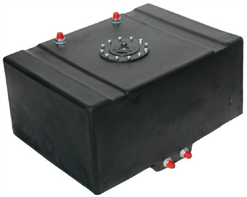 RCI 16 GALLON DRAG RACING FUEL CELL W/2 SUMP,GAS TANK BLADDER,ROLLOVER VENT by Southwest Speed