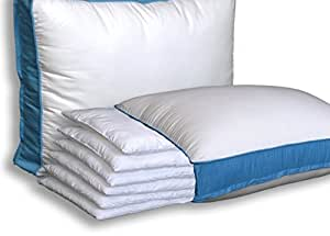 The Pancake Pillow - Adjustable Layer Pillow. Custom Fit Your Perfect Pillow Height. Queen Size Luxury Pillow