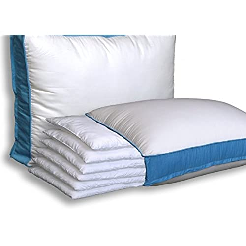Very thin bed pillows amazoncom for Best soft pillow for side sleepers