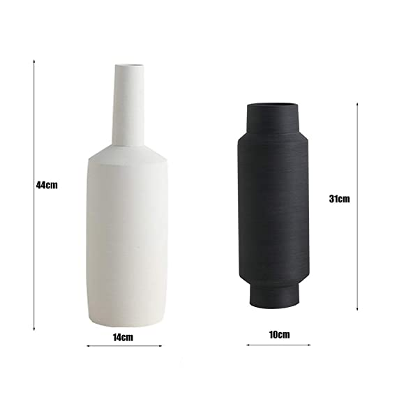 Amazon.com: GBLight Vase Ceramic Vase Handmade Coarse ...