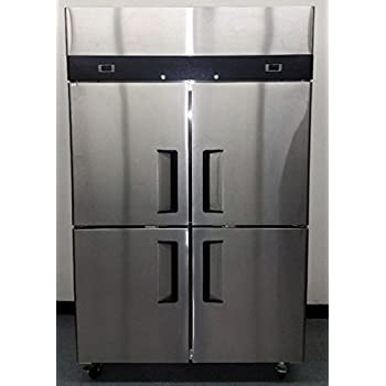 Amazon Com 52 Quot Double 2 Door Side By Side Stainless Steel
