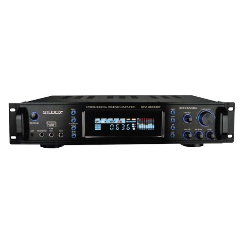 (Prof. Audio Equip. - Model#: ZPA3000BT)