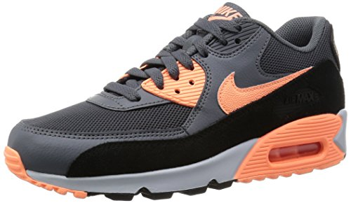 Galleon - Nike Women's Air Max 90 Essential Drk Grey/Snst Glw/Blk/Pr Pltnm  Running Shoe 6.5 Women US