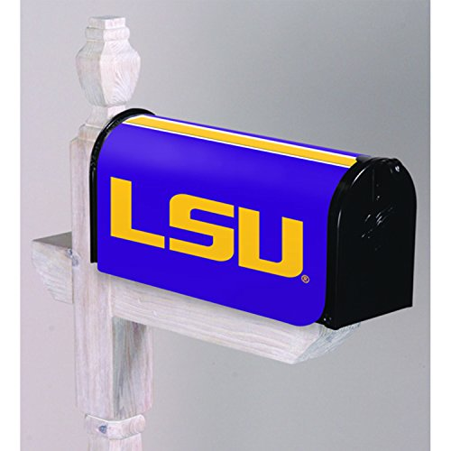 University State Cover Louisiana (Team Sports America Louisiana State University Applique Mailbox Cover)