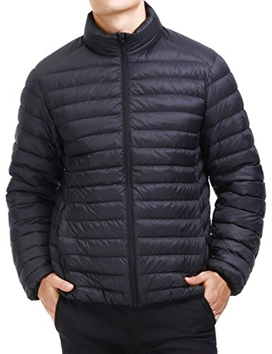 Puredown Mens Packable Goose Jacket product image