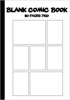 blank book template for kids - make your own cartoon strip