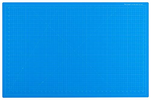 "Dahle Vantage 10693 Self-Healing 5-Layer Cutting Mat Perfect for Crafts and Sewing 24"" x 36"" Blue Mat"