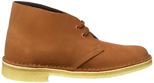 Clarks Originals Damen Desert Boot Braun (Dark Tan Suede)