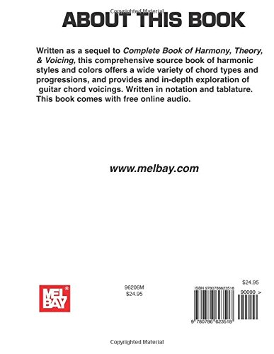 Mel Bay Complete Book of Harmonic Extensions for Guitar: Bret ...