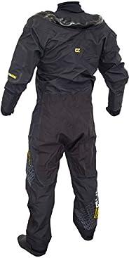 GUL Code Zero Stretch U-Zip Drysuit Dry Suit + Pee Zip Including UNDERFLEECE - Easy Stretch Waterproof Spraypr