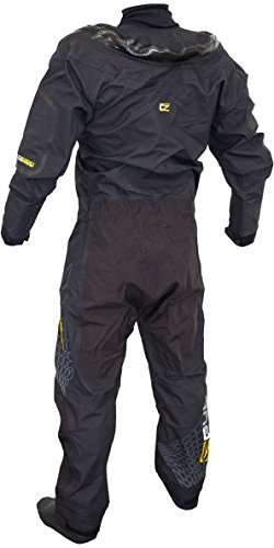 Gul Code Zero Stretch U-Zip Drysuit with Pee zip + FREE UNDERSUIT GM0368 Sizes- - Large