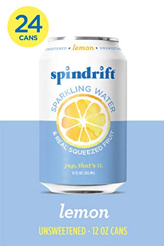 Spindrift Sparkling Water Lemon