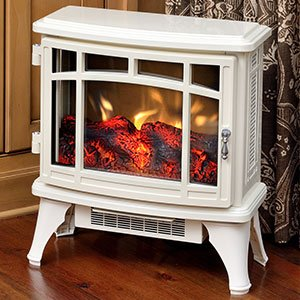 duraflame-infrared-quartz-stove-heater-with-flame-effect-cream-dfs-8511