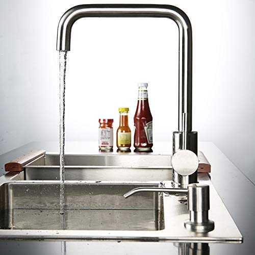 (ZHAOSHOP Faucet Faucet Bathroom Products Mixing Faucet Hot and Cold Faucet Kitchen Hot and Cold Faucet)