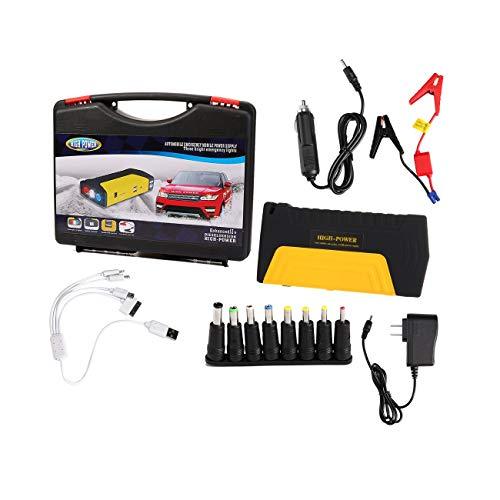 (LasVogos Mini Portable Emergency Starting Device Car Jump Starter USB Mobile Power)