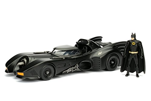 Jada Toys Metals 1: 24 1989 Batmobile with Figure