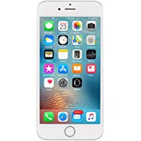 Apple iPhone 6S, Fully Unlocked, 16GB - Silver (Refurbished)