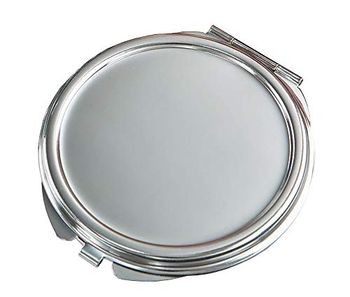 40 Perfectly Plain Collection Silver Metal Mirror
