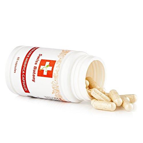Pueraria Mirifica Capsules Natural Breast Enlargement & Firmness Pills - Swiss Botany | ** 60 Capsules **