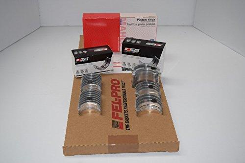 Chevy GMC 6.2L 6.2 Diesel Engine Rering Kit Rings+Bearings+Gaskets 1982-1991 (std) Chevy Diesel Engines