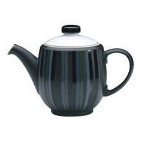 Denby Jet Stripes - Denby Jet Stripes Large Teapot by Denby