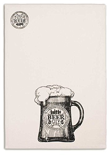Backroads Collection Cotton Tea Towel 20 X 28 Beer City