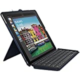 Logitech iPad Pro 12.9 inch Keyboard Case | SLIM COMBO with Detachable, Backlit, Wireless Keyboard and Smart Connector (Blue)