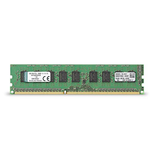 Free Kingston Technology ValueRAM 8GB 1333MHz DDR3 ECC CL9 DIMM for Server & Workstation 8 KVR1333D3E9S/8G
