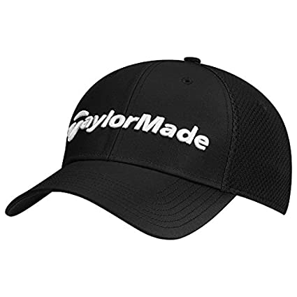 Amazon.com   TaylorMade Golf 2017 Tour Performance Cage Hat   Sports ... fd9f528dd0db