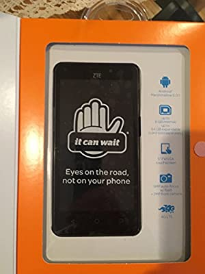 Zte Maven 2 Unlocked 4g Lte Quad Core Z831 5mp Flash 8gb Android 6.0.1 LCD 5.0