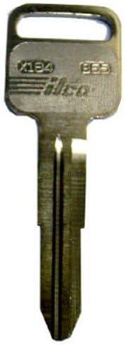 Plastic Head Faux Wood Look Key Older Model Isuzu B65 X184