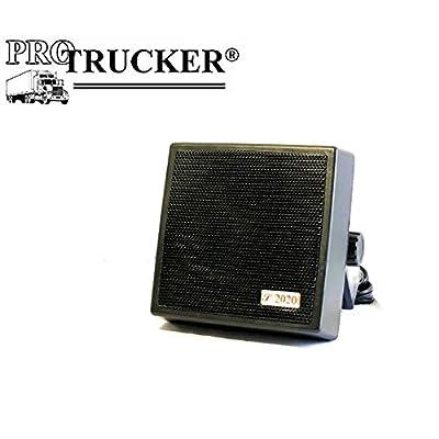 """Pro Trucker 4.5"""" 20 Watt Noise Cancelling Dynamic External Speaker with Talk Back: Automotive"""