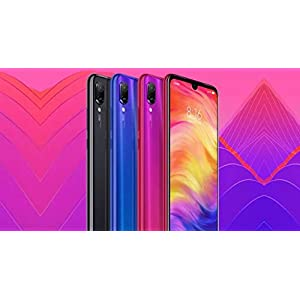 "Xiaomi Redmi Note 7, 64GB/4GB RAM, 6.30"" FHD+, Snapdragon 660, Blue – Unlocked Global Version, No Warranty"