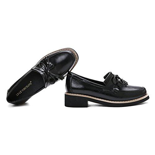 Scarpe Da Donna Con Nappe E Nappe Sul Tallone E Slip On Sneaker Casual
