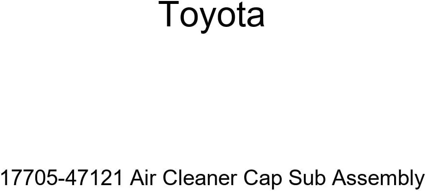 Genuine Toyota 17705-47121 Air Cleaner Cap Sub Assembly