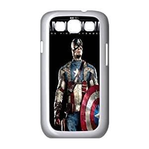 Captain America Samsung Galaxy S3 9300 Cell Phone Case White Protect your phone BVS_824617