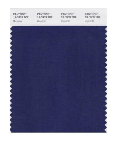 Pantone SMART 19-3939X Color Swatch Card, Blueprint