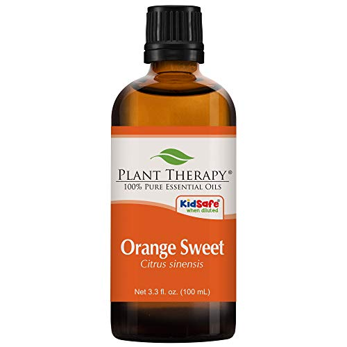 (Plant Therapy Orange Sweet Essential Oil | 100% Pure, Undiluted, Natural Aromatherapy, Therapeutic Grade | 100 milliliter (3.3 ounce))