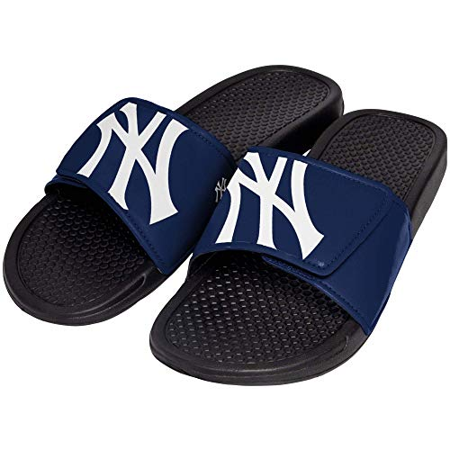 (FOCO MLB New York Yankees Unisex Big Logo Slide-Big Logo Slde, New York Yankees, Medium)