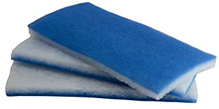 inTank Aquarium and Pond Value Pack - Bonded Blue & White Poly Filter Floss Pads 600-square-inches (B00B50UPE0) | Amazon price tracker / tracking, Amazon price history charts, Amazon price watches, Amazon price drop alerts