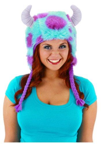 [Elope Monster University Sulley Deluxe Hoodie] (Monsters Inc Costumes)