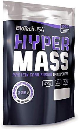 BioTech USA Hyper Mass 5000  Caramel Capuccino, 1er Pack (1 x 1 kg)