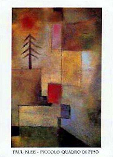 Posters: Paul Klee Poster Art Print - Piccolo Quadro Di Pino